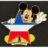 Mississippi Flag Pin
