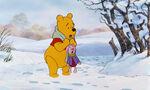 Winnie the Pooh and Piglet heard Tigger say hallooo