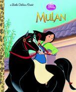 Mulan little golden book reprint