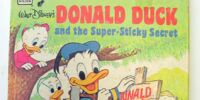 Donald Duck and the Super-Sticky Secret