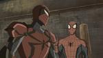 Spyder-Knight and Spider-Man USMWW