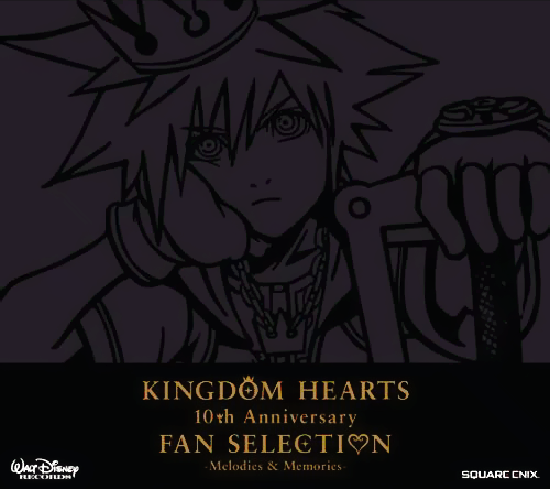 File:Kingdom Hearts 10th Anniversary Fan Selection -Melodies & Memories- Cover.png