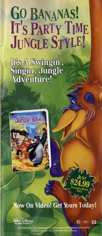 File:The Jungle Book - VHS Print Ad from 1991 Disneyland Guide.jpg