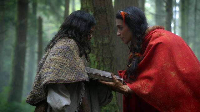 File:Once Upon a Time - 6x21 - The Final Battle Part 2 - Lucy and Tiger Lily.jpg