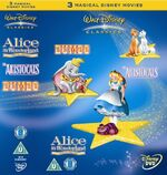Walt Disney Classics Box Set 2006 UK DVD