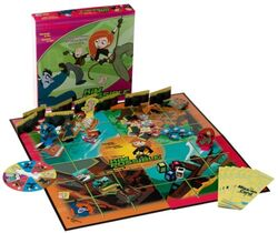 Kim Possible Game board