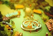 Dumbo's Circus Land Model