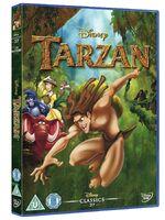 Tarzan UK DVD 2014