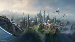Star Wars Land Concept Art 03