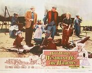 Westward Ho, the Wagons Poster 2
