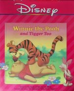 Winnie the Pooh and Tigger Too Disney Read Along 3rd Cassette