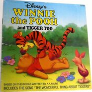Winnie the Pooh and Tigger Too Disney Read Along 2nd Cassette