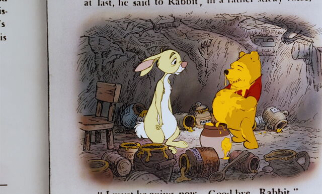 File:Winnie the Pooh is all covered in stickey gooey honey.jpg