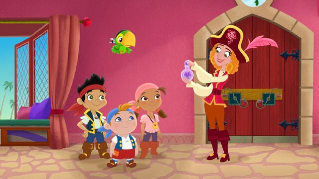File:Jake&crew with Red Jessica-Mystery of the Missing Treasure!.jpg