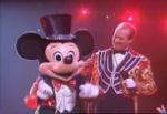 Ringmaster Mickey and Eric Michael Gillett