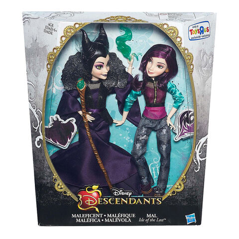 File:Maleficent and Mal dolls.jpg