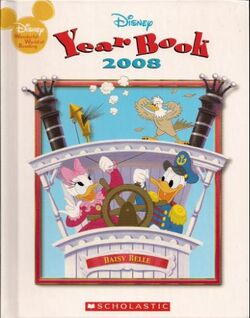 Disney yearbook 2008