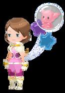 Pink Elephant Accessory Kingdom Hearts χ