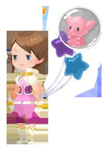 File:Pink Elephant Accessory Kingdom Hearts χ.png