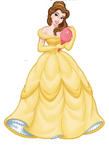 Belle with mirror