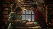 Once Upon a Time - 5x17 - Her Handsome Hero - Belle and Gaston Reading