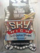 Sky high pin