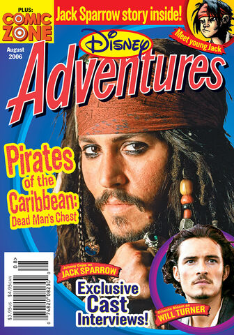 File:Disney Adventures Magazine cover August 2006 Pirates of the Caribbean Dead Mans Chest.jpg