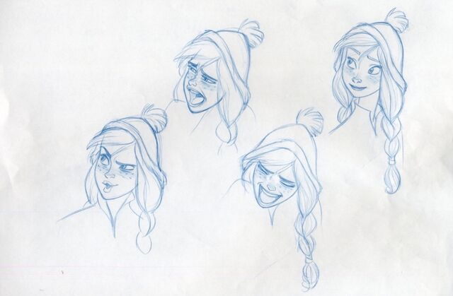 File:Frozen Concept Art - Anna by Randy Haycock - 1.jpg