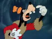 Goofy about to sneeze
