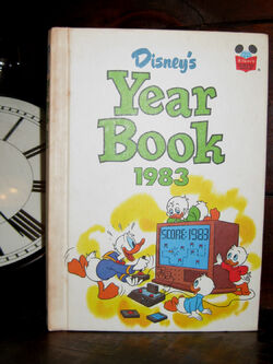 Disney yearbook 1983