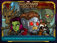 Gotg TUW Character Selection