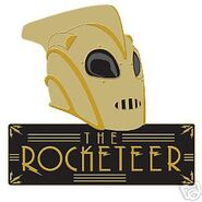 Rocketeer Helmet Pin