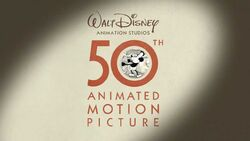 Disney Animation (50th Animated Motion Picture Version)