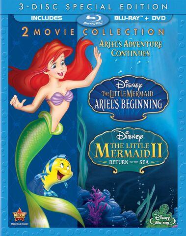 File:The Little Mermaid II & Ariel's Beginningbluray.jpg
