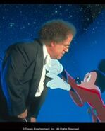 James levine with mickey