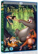 The Jungle Book 2013 UK DVD