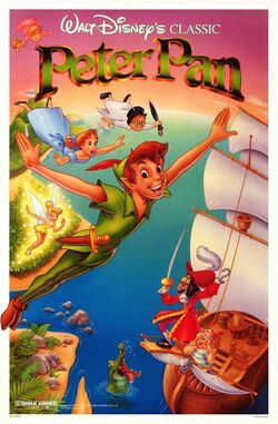 Peter Pan 1989 Re-Release Poster