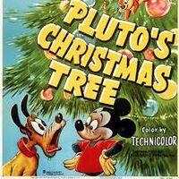 Pluto's christmas tree close up