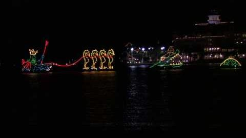 Disney World's Electric Water Parade 2009