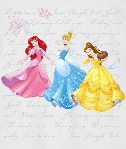 File:Ariel, Cinderella and Belle.jpg