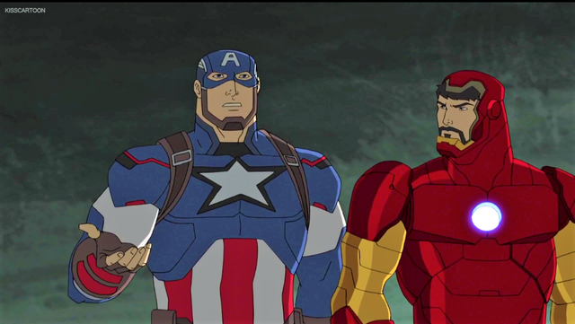File:Captain America and Iron Man AUR.png