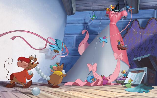 File:Disney Princess Cinderella's Story Illustraition 7.jpg