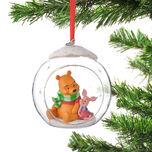 Pooh & Piglet Snow ornament