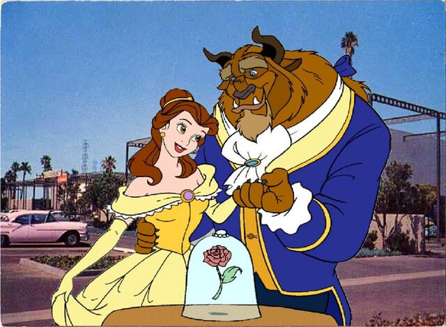 File:Belle and beast happily together in the disneyland hotel-96975.jpg