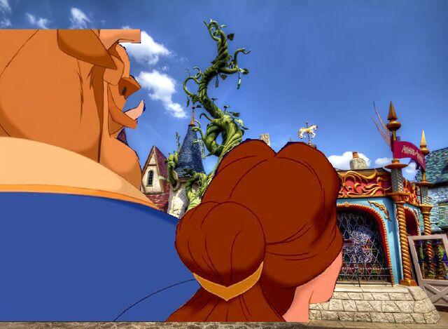 File:Belle and Beast Goes to Disneyland Paris Pictures 03.JPG