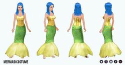 HalloweenHaunt - Mermaid Costume