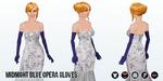 BlackFriday - Midnight Blue Opera Gloves