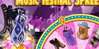 Music Festival Spree Spinner