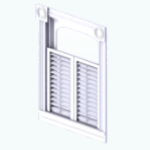 WhiteKitchenDecor - Cottage Window