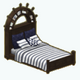 SailingLessons - Ship Captain Bed